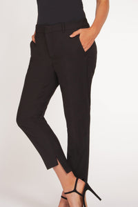 High-low Hem Work Pants