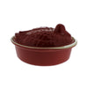 Chasseur 2.1-quart Red 'Duck' French Enameled Cast Iron Terrine (CI_3703)