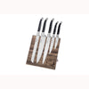 French Home 5 Piece Laguiole Connoisseur Kitchen Knife Set - LG040