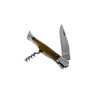 French Home Connoisseur Pocket Knife with Cork Screw and Olive Wood handle (LG052)