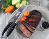 French Home 8 Piece Laguiole Faux Onyx Steak Knife and Fork Set (LG082)