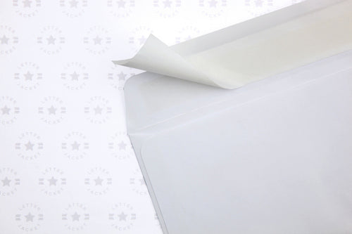 #10 Regular Envelope with Peel & Stick (Custom Printed or Plain)