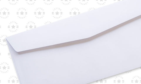 #10 Standard Window Side Seam Envelope