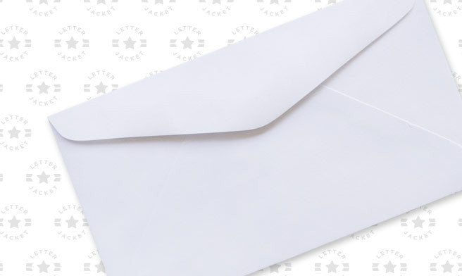 6 3/4 Regular Envelope with Regular Gum (custom printed or plain)