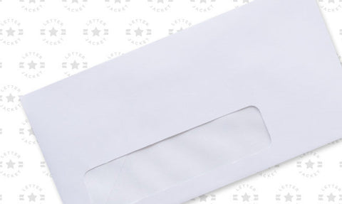 6 3/4 Standard Window Envelope