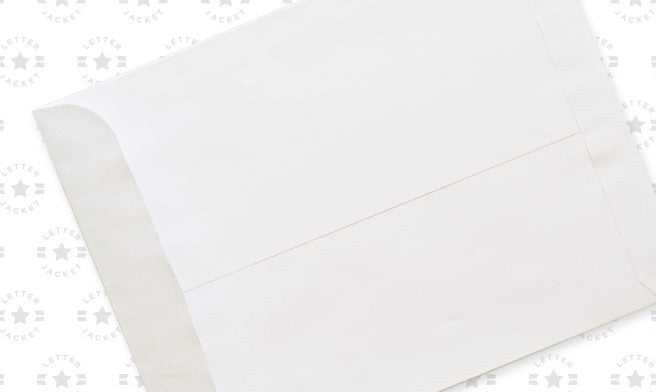 9 1/2 x 12 1/2 Catalog Envelope 28# White Wove with Peel & Stick (custom printed or plain)