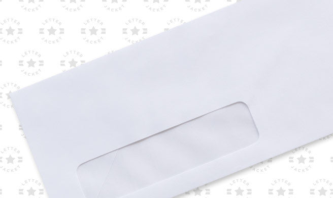 #11 Custom Printed Standard Window Envelope