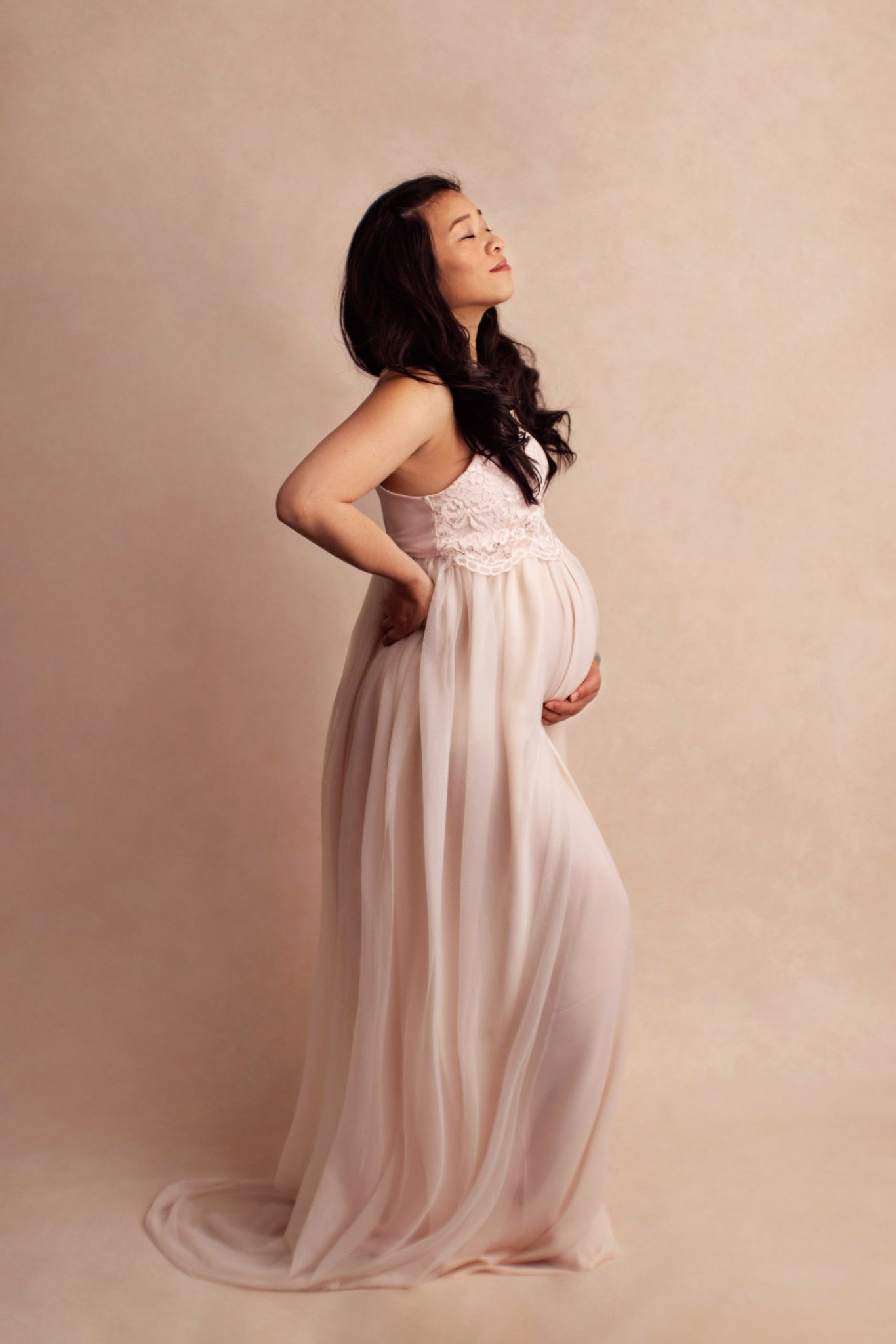 Jo Kidd Lace Maternity Top & Tulle Skirt