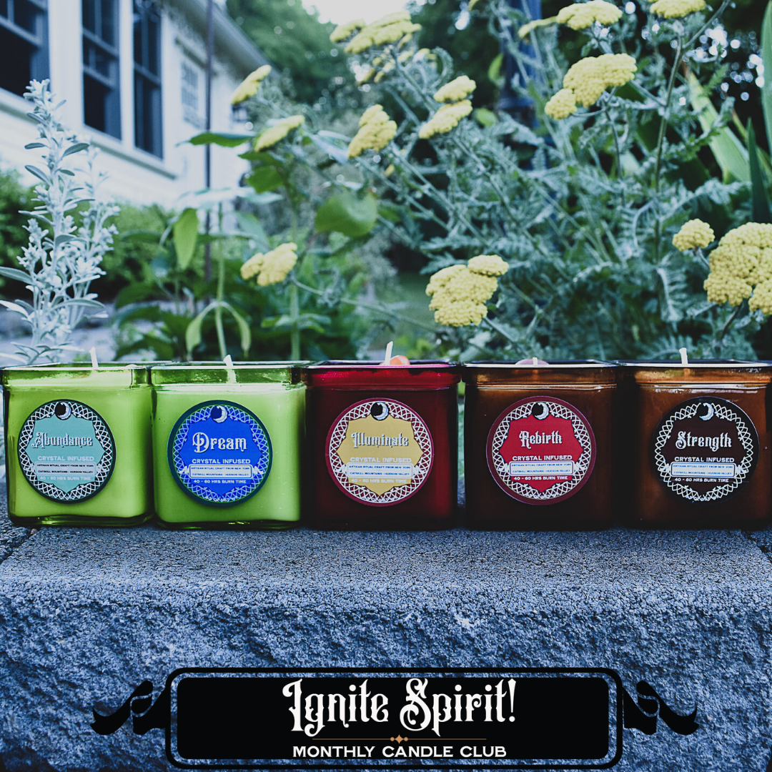 "Ignite Spirit Candle Club - Monthly ""Classic"" Subscription"