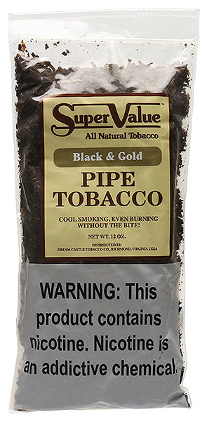 Super Value Black & Gold 12 oz