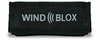 Wind-Blox Classic in Black, one pair