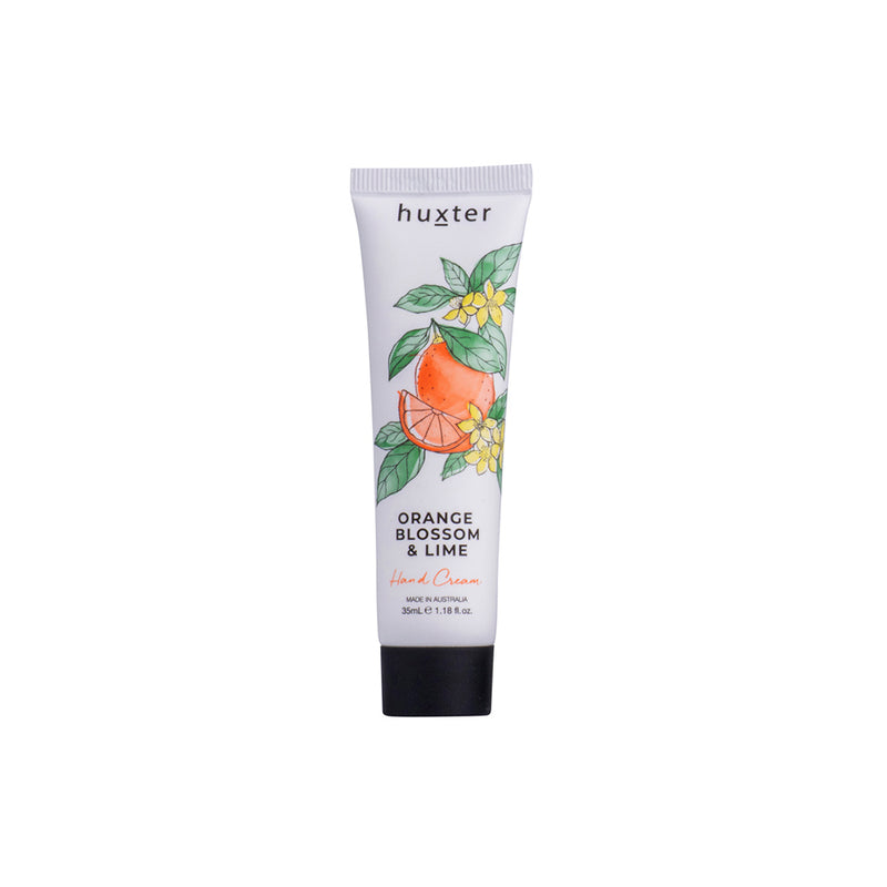 Botanicals Hand Cream 35ml Orange Blossom & Lime by Huxter - Available At Berry Jam Sweet Living