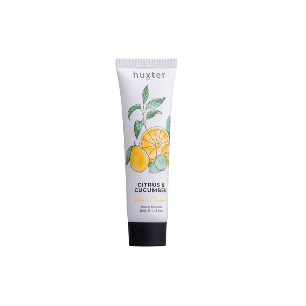 Botanicals Hand Cream 35ml Citrus & Cucumber by Huxter - Available At Berry Jam Sweet Living