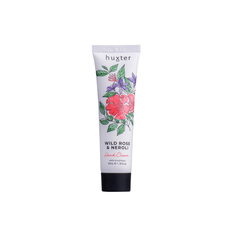 Botanicals Hand Cream 35ml Wild Rose & Neroli by Huxter - Available At Berry Jam Sweet Living