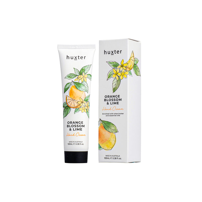 Botanicals Hand Cream 100ml Orange Blossom & Lime by Huxter - Available At Berry Jam Sweet Living