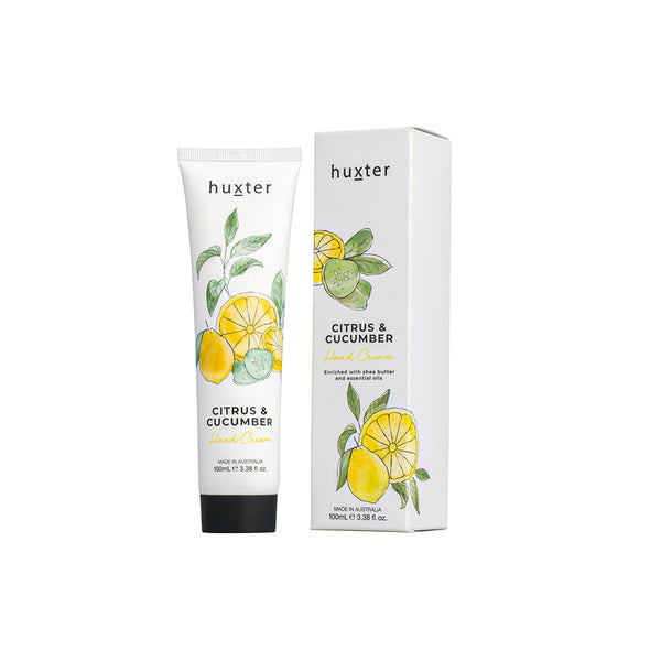 Botanicals Hand Cream 100ml Citrus & Cucumber by Huxter - Available At Berry Jam Sweet Living