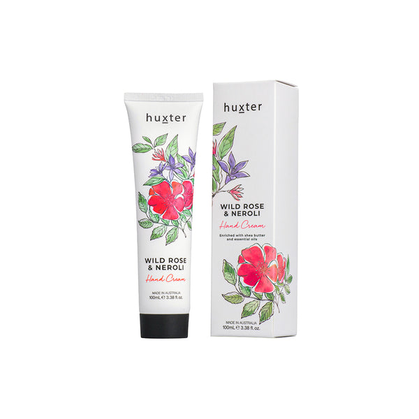 Botanicals Hand Cream 100ml Wild Rose & Neroli by Huxter - Available At Berry Jam Sweet Living