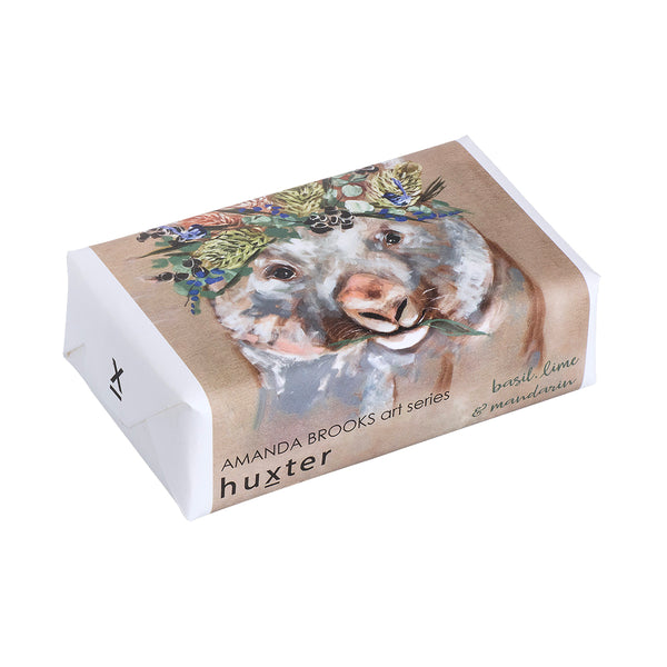 Art Series Soap 'Forget me not Wombat' by Huxter - Available At Berry Jam Sweet Living