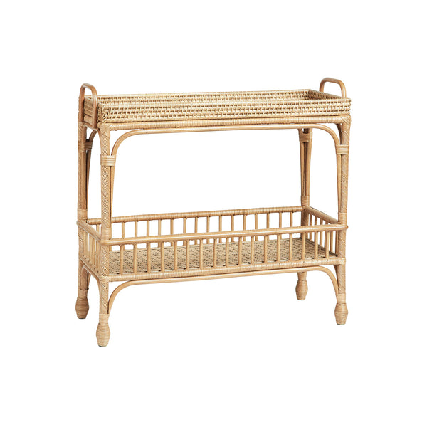 Palm Springs Bar Cart Natural by Canvas & Sasson - Available At Berry Jam Sweet Living