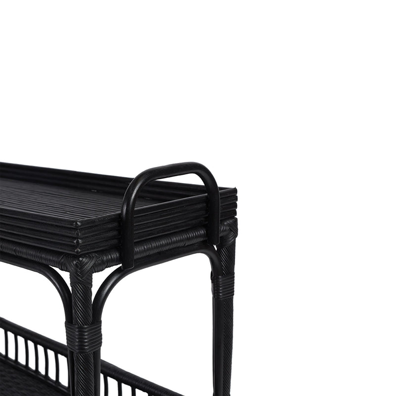 Palm Springs Bar Cart Black by Canvas & Sasson - Available At Berry Jam Sweet Living