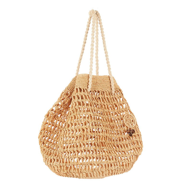 Bavata Raffia Bag Natural by Tanora - Available At Berry Jam Sweet Living
