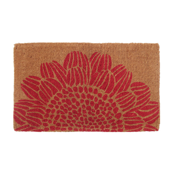 Coir Doormat Blossom by Berry Jam - Available At Berry Jam Sweet Living