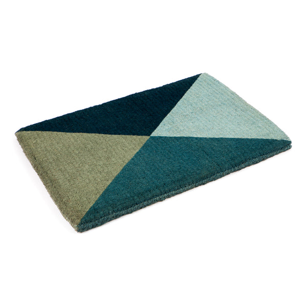 Coir Doormat Blue Flag by Berry Jam - Available At Berry Jam Sweet Living
