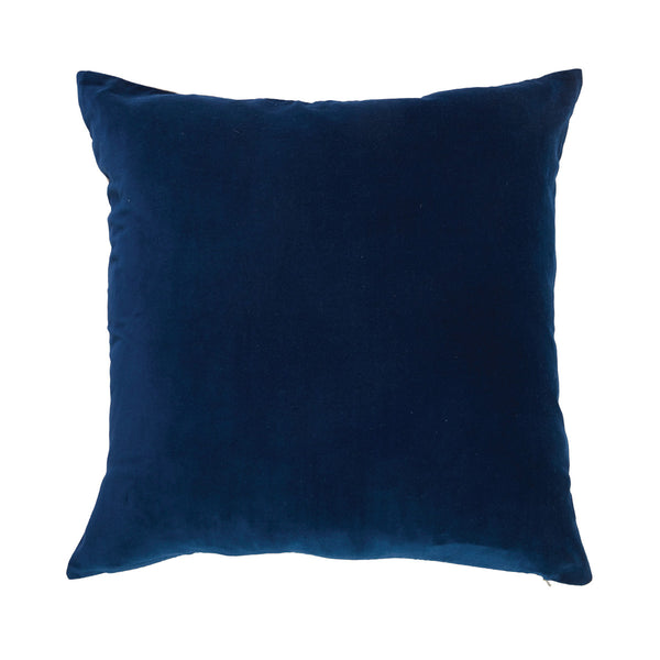 Porter Classic Velvet Navy Cushion by Canvas & Sasson - Available At Berry Jam Sweet Living