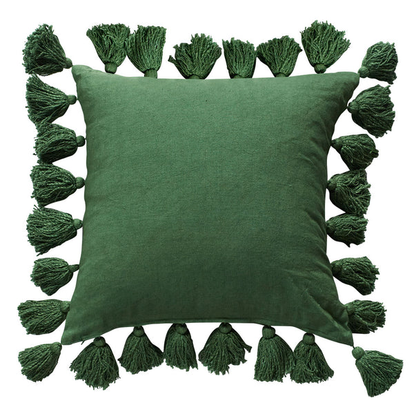 Majorelle Heritage Cushion Sea Green