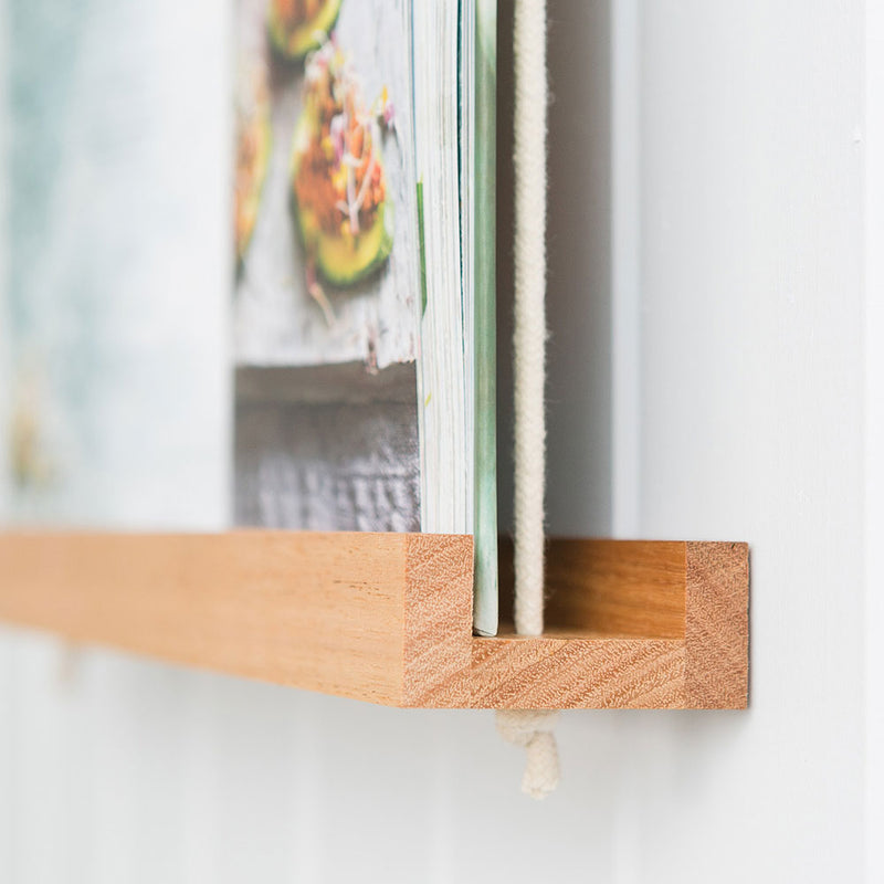 Book Frame Blonde Hardwood by Corner Block Studio - Available At Berry Jam Sweet Living