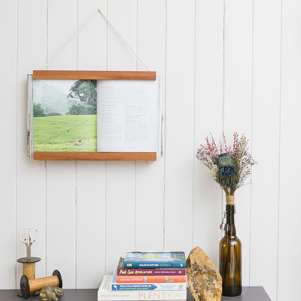 Book Frame Brunette Hardwood by Corner Block Studio - Available At Berry Jam Sweet Living