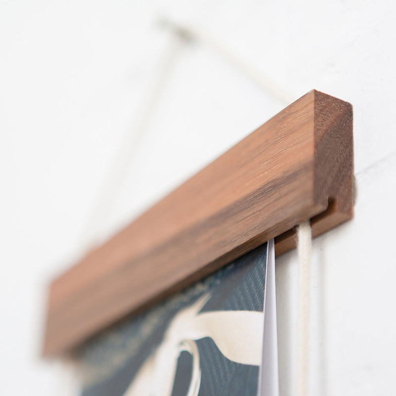 Card Frame Brunette Hardwood by Corner Block Studio - Available At Berry Jam Sweet Living