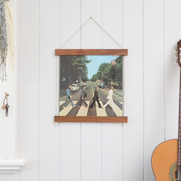 Record Jacket Frame Brunette Hardwood by Corner Block Studio - Available At Berry Jam Sweet Living