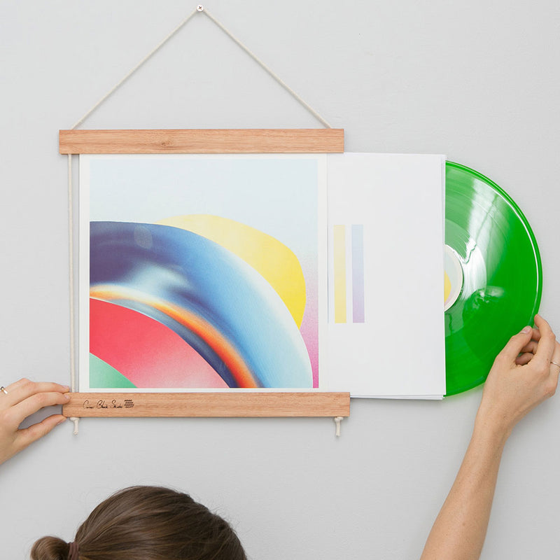 Record Jacket Frame Blonde Hardwood by Corner Block Studio - Available At Berry Jam Sweet Living