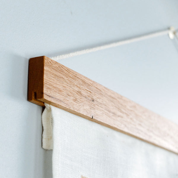 Tea Towel Frame Brunette Hardwood by Corner Block Studio - Available At Berry Jam Sweet Living