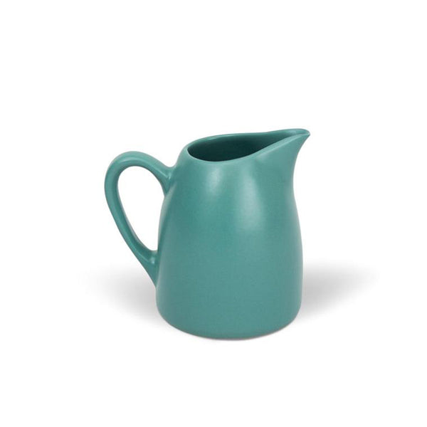Fagel Pitcher Small Teal by Bison Home - Available At Berry Jam Sweet Living