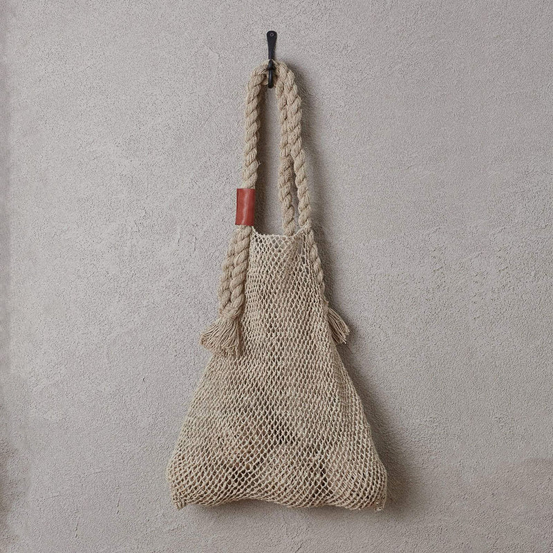 Jumbo Hemp String Bag Natural by Dharma Door - Available At Berry Jam Sweet Living