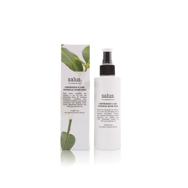 Lemongrass & Lime Botanical Room Spray 200ml by Salus Body - Available At Berry Jam Sweet Living
