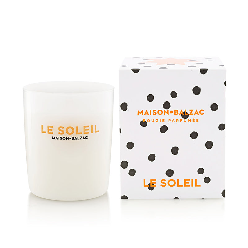 Le Soleil Candle Large by Maison Balzac - Available At Berry Jam Sweet Living