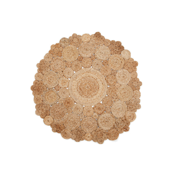 Marigold Round Jute Rug by Berry Jam - Available At Berry Jam Sweet Living