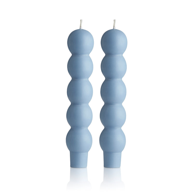 2 Volute Candles Sky