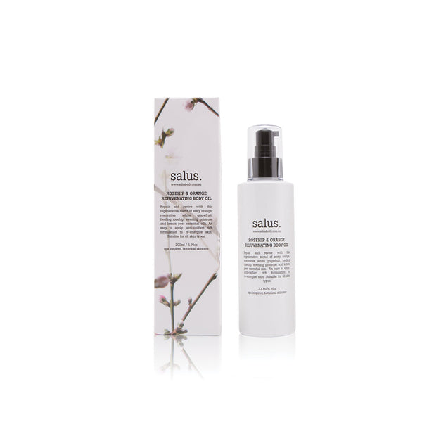 Rosehip & Orange Rejuvenating Body Oil by Salus Body - Available At Berry Jam Sweet Living