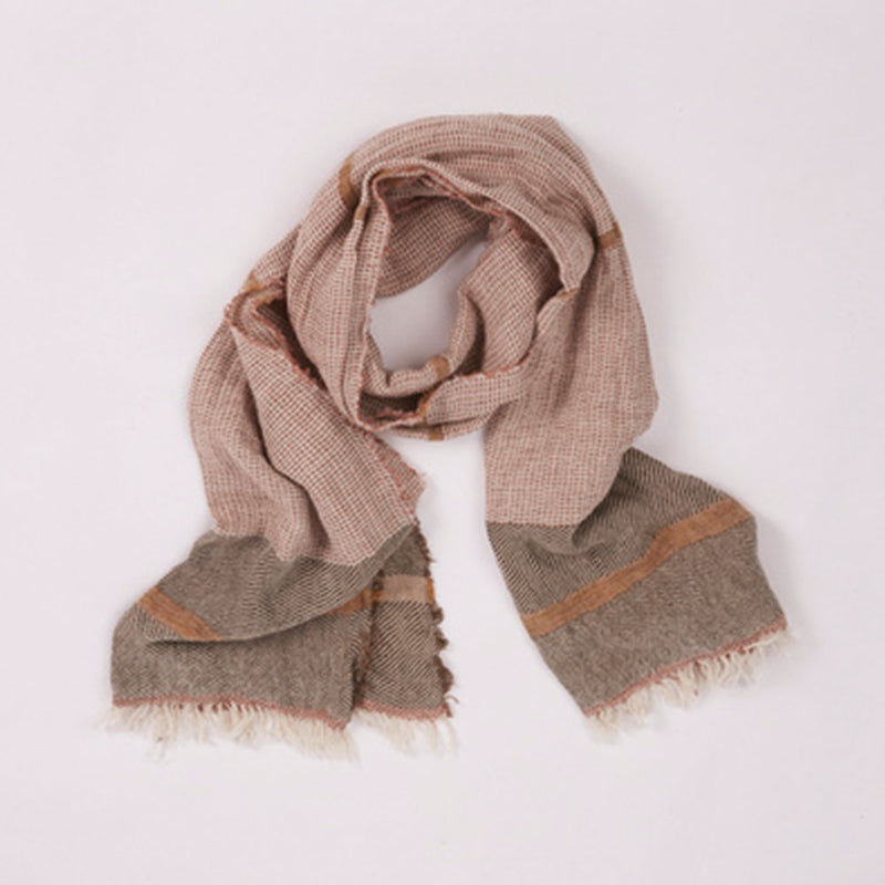 Shelter Scarf Cinnamon by Saarde - Available At Berry Jam Sweet Living