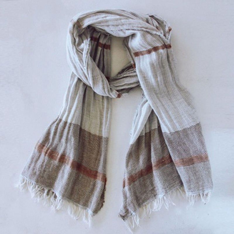 Shelter Scarf Grey by Saarde - Available At Berry Jam Sweet Living
