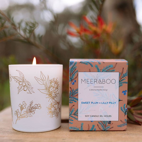 Candle Small Sweet Plum + Lilly Pilly