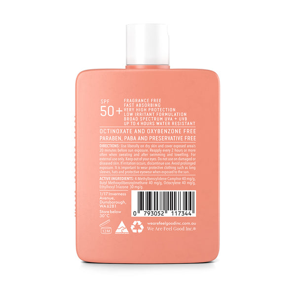 Sensitive Sunscreen Lotion 200ml