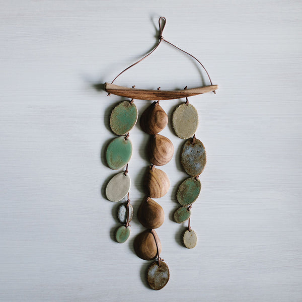 The Greens 3-Strand Wall Hanging by Woodfolk - Available At Berry Jam Sweet Living