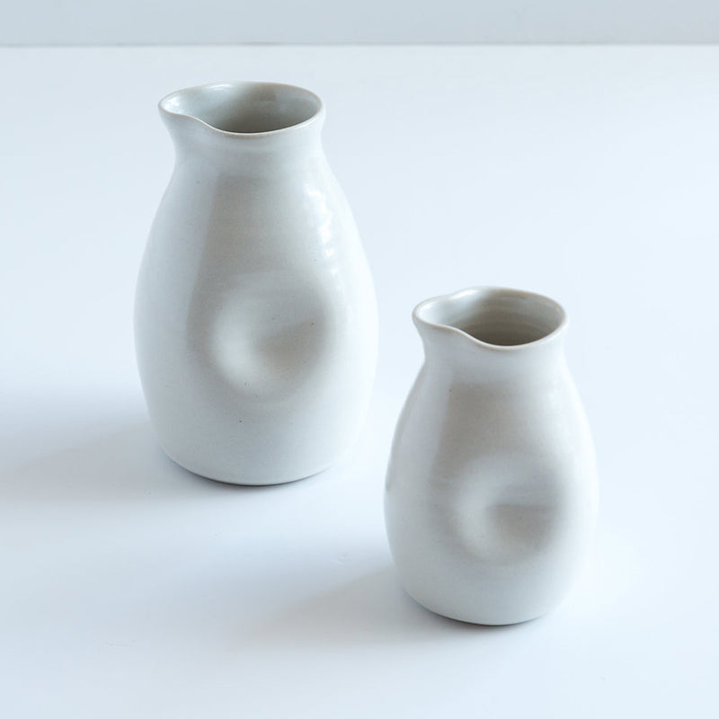 Ceramic Milk Jug White by Ana Jensen Ceramics - Available At Berry Jam Sweet Living