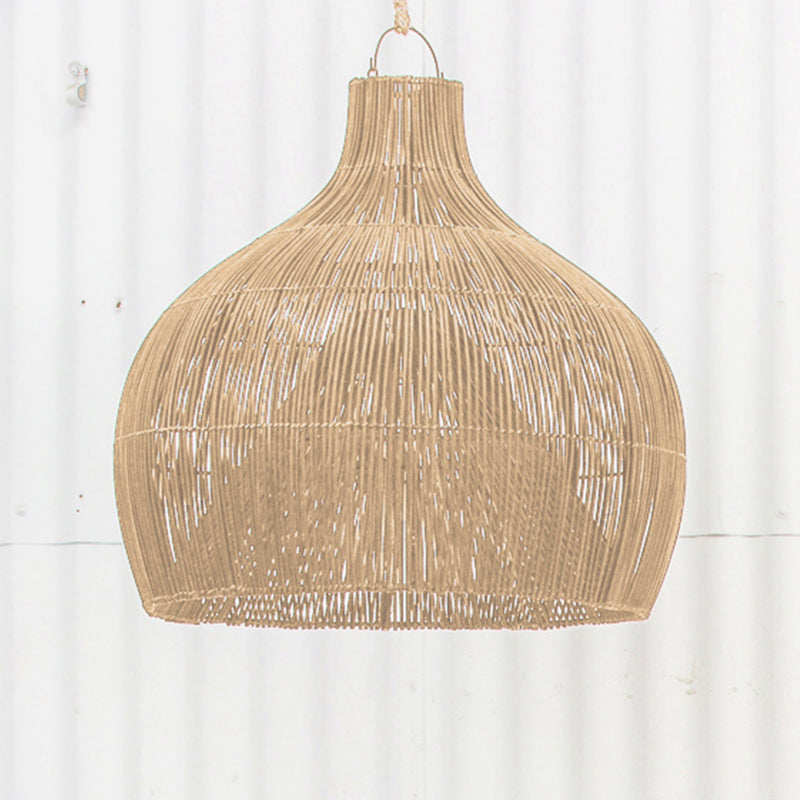 Dari Rattan Oversized Light Shade Natural by Inartisan - Available At Berry Jam Sweet Living