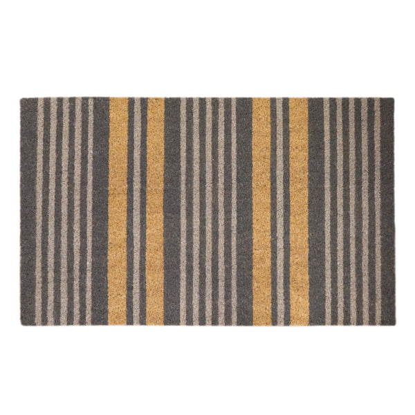 Stripe Grey Doormat